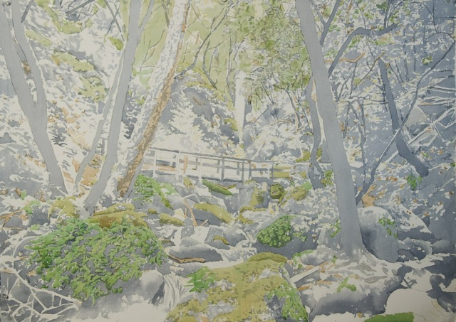 cataract bridge painting03