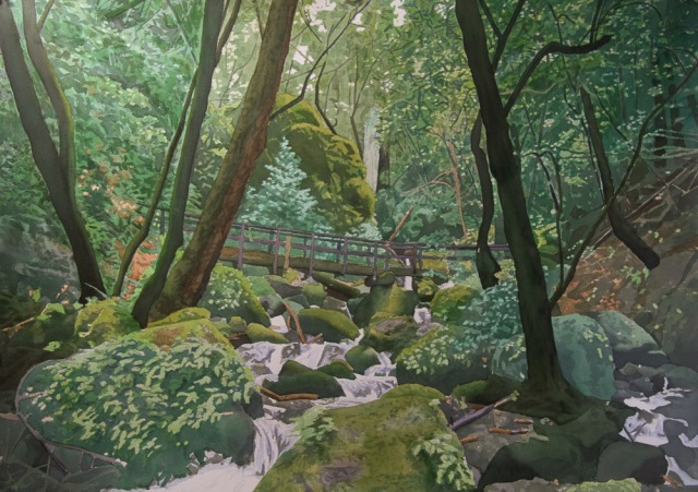 cataract bridge painting05