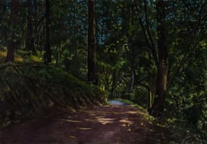 Study for Mt. Tam Nocturne