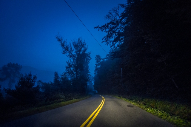 Early Morning, Hwy 125 Vermont-00256