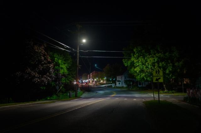Main & Mountain Street, Bristol Vermont-
