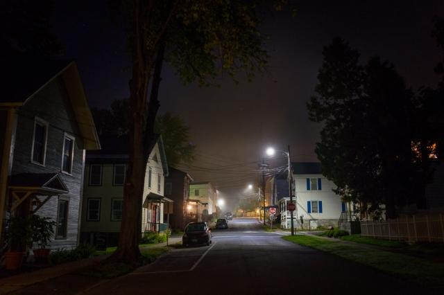 Maple & School Street, Vergennes Vermont-