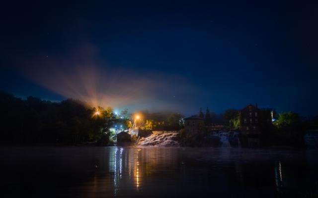 Nocturne, Vergennes Falls Vermont-
